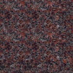 Dakota Mahogany Granite Color Sample