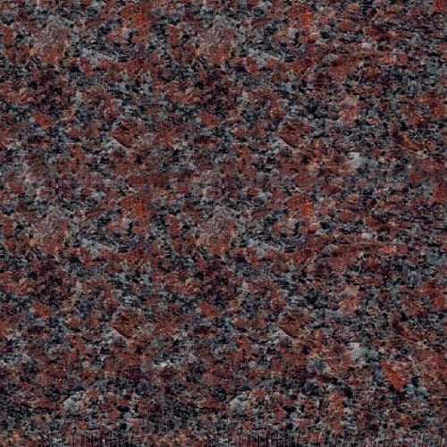 Dakota Mahogany Granite Color Sample