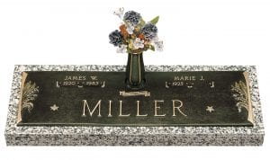 Miller Personalized Bronze Monument