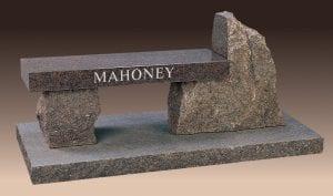Mahoney Custom Memorial Bench