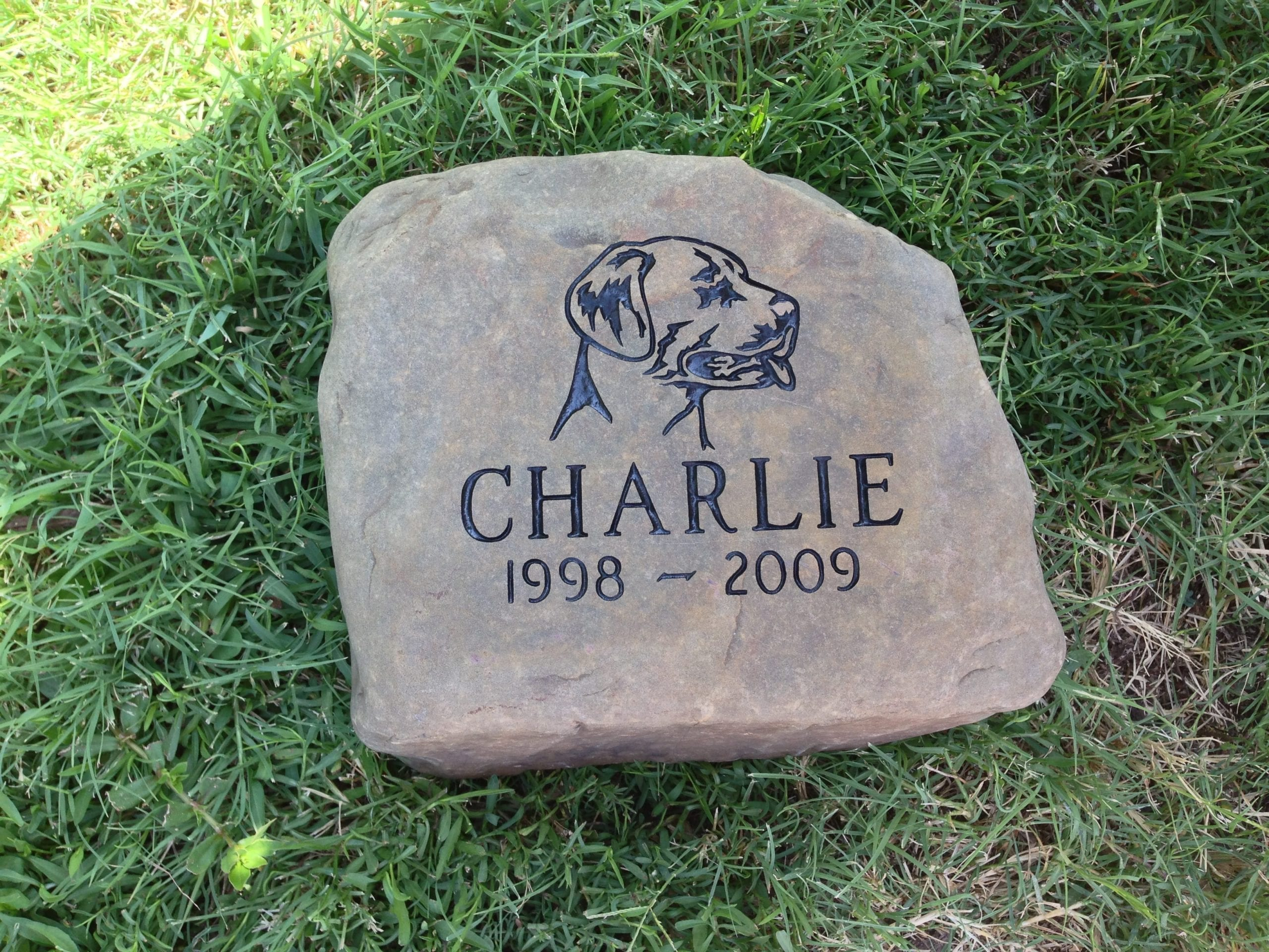 Charlie Portrait Pet Memorial