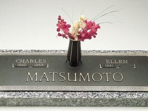Traditional Bronze Headstone