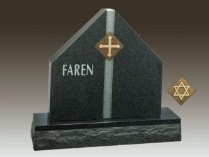 Faren Custom Upright Gravestone
