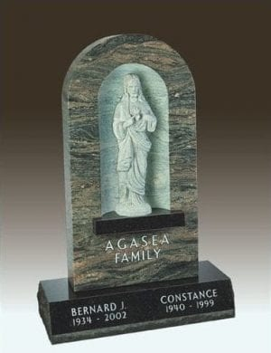 Agasea Family Upright Monument
