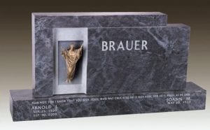 Bauer Family Upright Gravestone