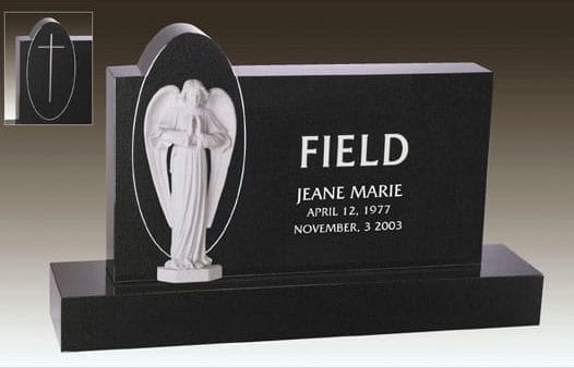 Field Angel Upright Memorial