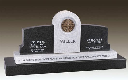 Miller Companion Custom Monument