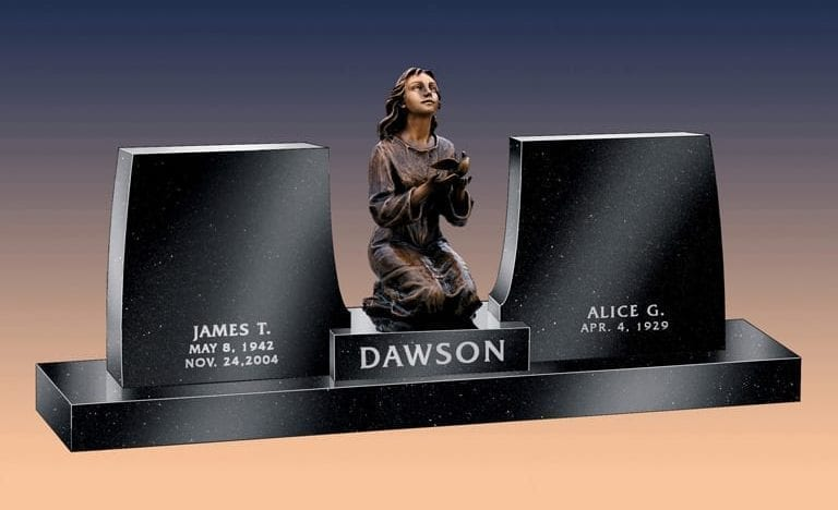 Dawson Hopeful Custom Headstone