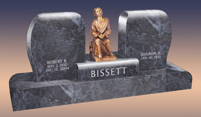 Bissett Praying Statue Monument