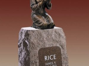Rice Statue Upright Monument