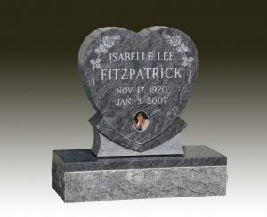Fitzpatrick Upright Heart Memorial