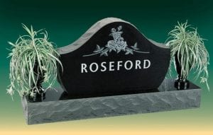 Roseford Family Upright Monument