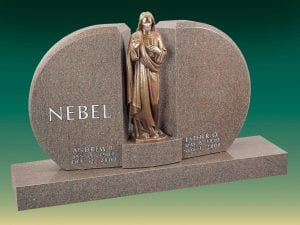 Nebel Pious Statue Memorial