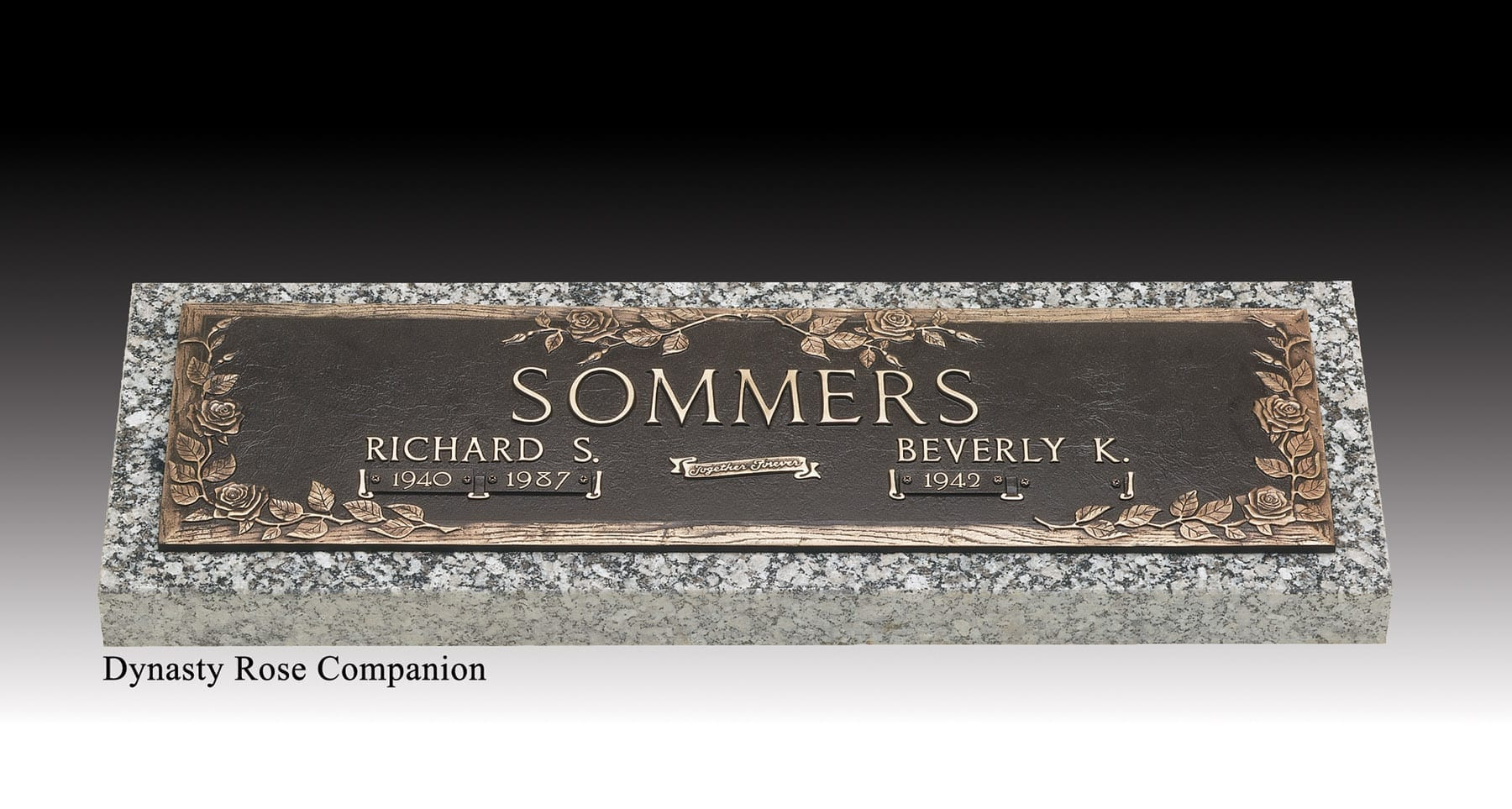 Sommers Bronze Monument