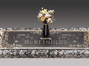 McReynolds Ivy Bronze Memorial