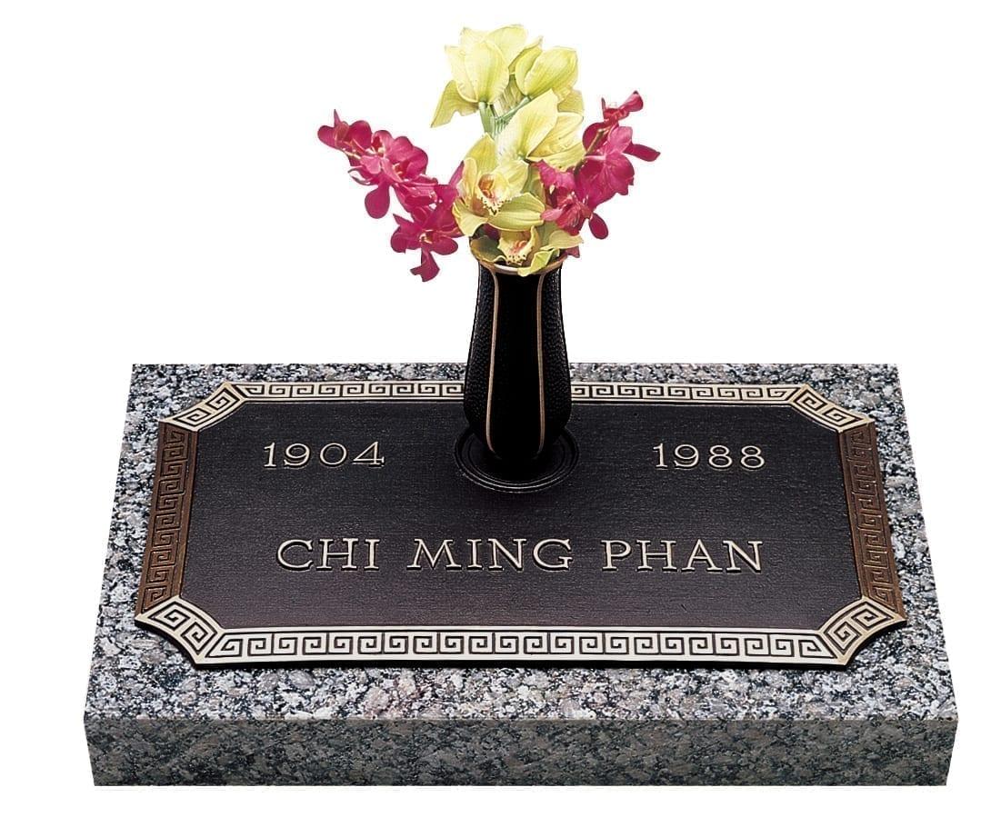Phan Bronze Gravestone