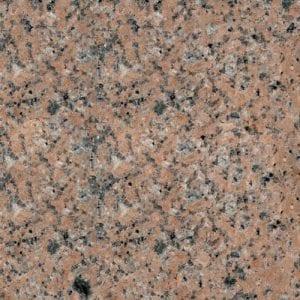 Sunset Red Granite Color Sample