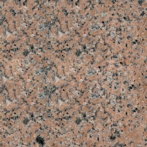 Sunset Red Granite Color Sample