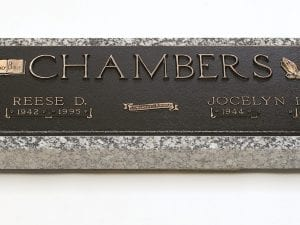 Chambers Faith Bronze Monument