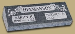Hermanson Raised Pillow Memorial