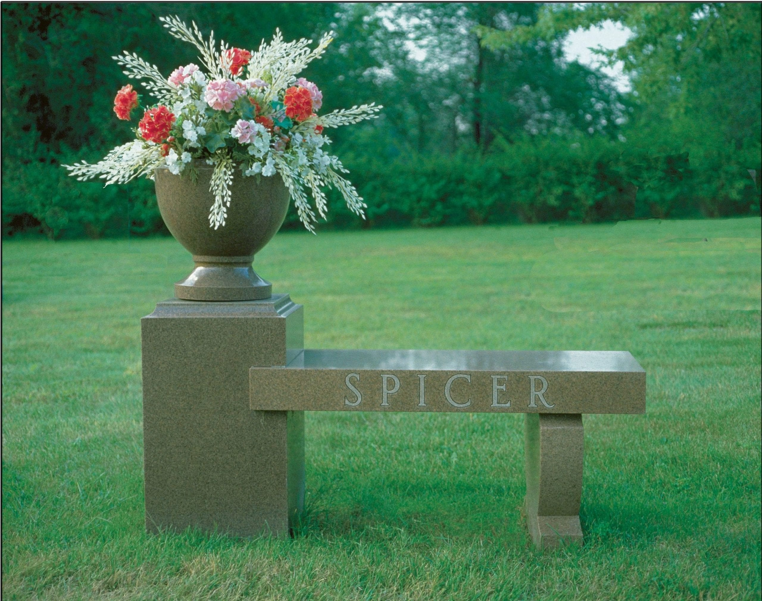 Spicer Bench Memorial