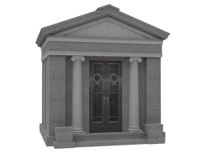 Eight Person Walk-In Mausoleum