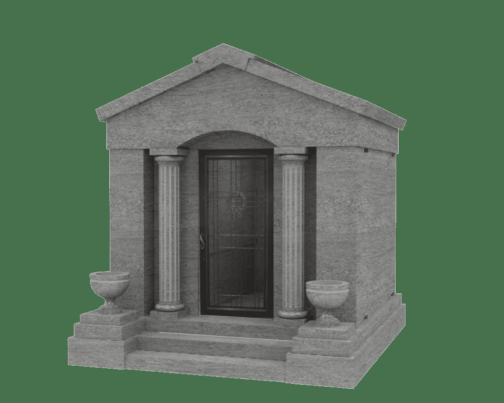 Four Person Walk-In Mausoleum
