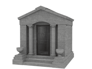Four Person Walk-In Mausoleum