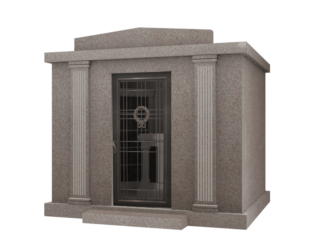 Custom Column Walk-In Mausoleum