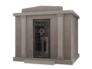 Custom Column Walk-In Mausoleum